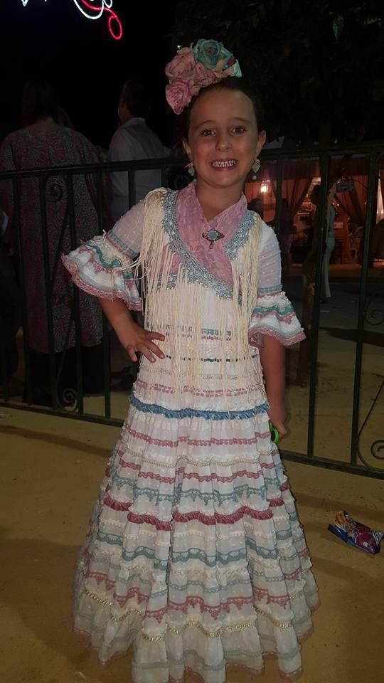 Maricastaña Traje Flamenca Niña Vestido Flamenco Niña Vestidos De Flamenca