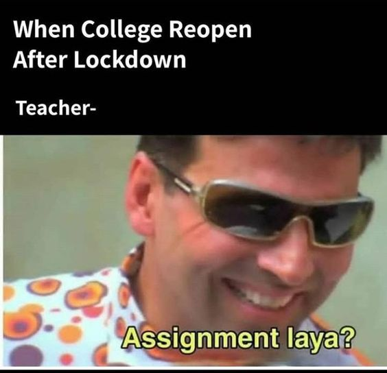 When College Reopen After Lockdown Funny Kid Memes Very Funny Jokes Really Funny Memes