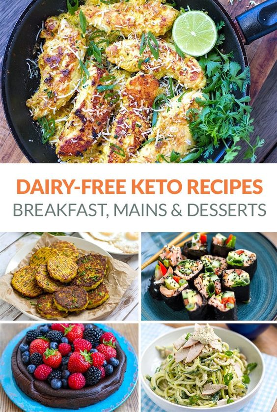 20+ Dairy-Free Keto Recipes