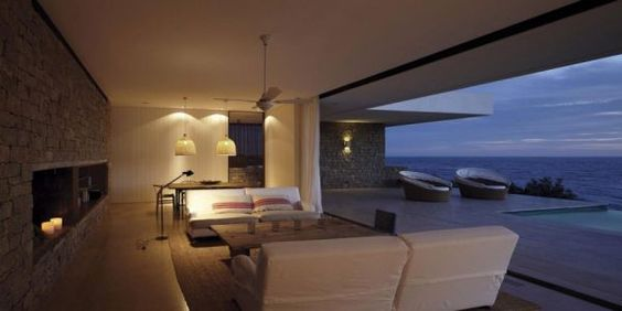 ...with this, one needs little more....Buenos Mares Villa. Located in Ignacio on the southern coast of Uruguay. Buenos Aires-based studio RDR Arquitectos, part of Richter Dahl Rocha & Associés. Completed in 2009.