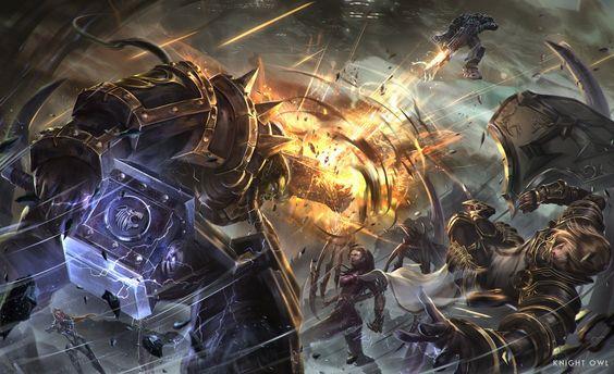 Clash by JohCn.deviantart.com on @DeviantArt