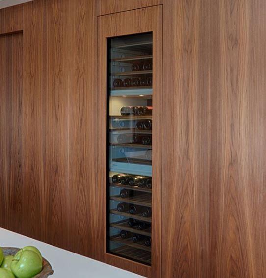 Miele Wine Cooler Flush Installlation Built In Wine Cooler Wine Storage Miele Kitchen Appliances