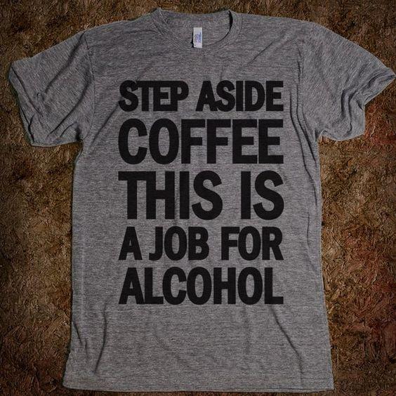 Fancy - Step Aside Coffee Tee