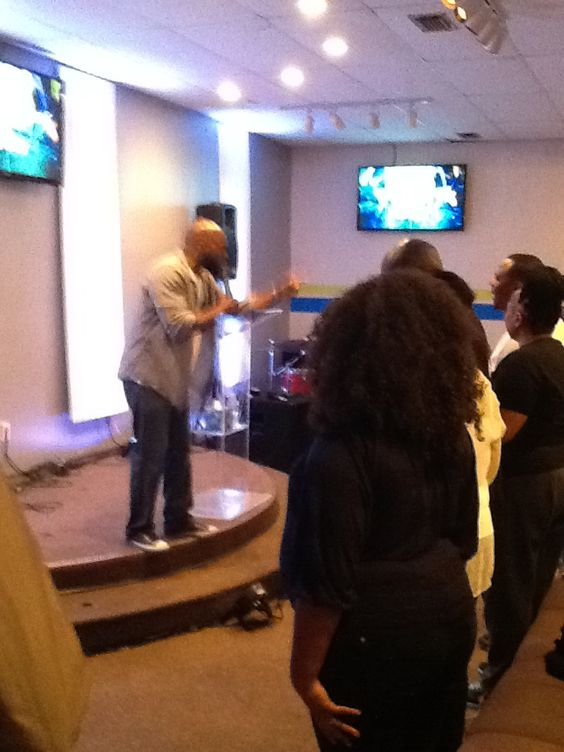 My pastor exudes anointing