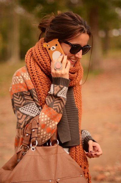 Really feeling the autumn spirit with this outfit.