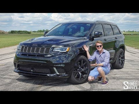 The Hennessey Jeep Trackhawk Hpe1000 Has More Power Than A Bugatti Veyron Youtube Bugatti Veyron Jeep Veyron