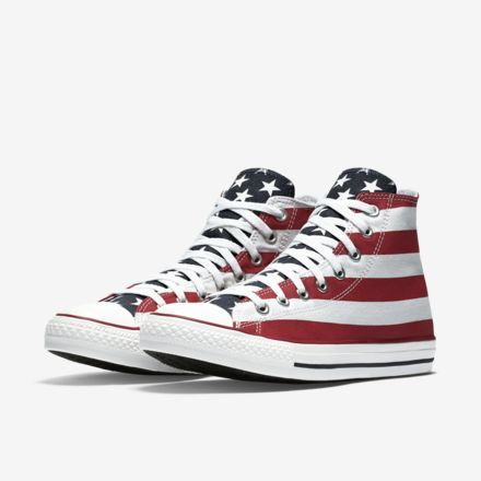 converse chuck taylor all star american flag high top