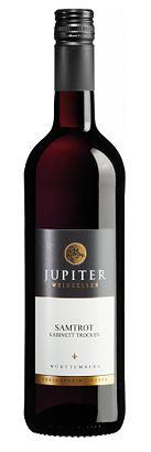 Samtrot Kabinett Rotwein 2013 trocken, fruchtig 0,75 l 6,26 € Art.-Nr.: ju2525 - kaufen im Jupiterweinshop