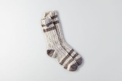 AEO Marled Varsity Crew Socks by  American Eagle Outfitters |