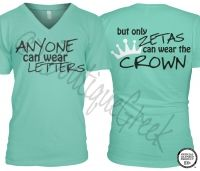 But only ALPHAS can wear the crown. :)