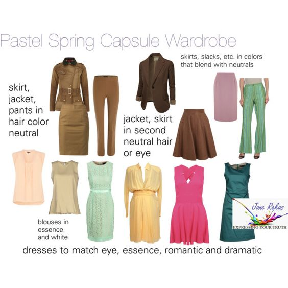 Pastel Spring Wardrobe by expressingyourtruth on Polyvore featuring Mode, Chanel, Piazza Sempione, Needle & Thread, Brunello Cucinelli, Warehouse, J.TOMSON, Barbour, Temperley London and Lands' End