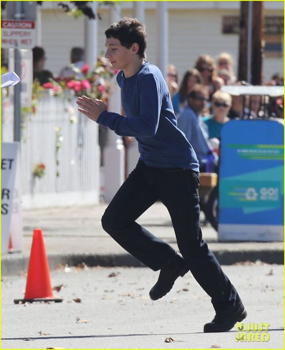 jared gilmore once upon a time and set of on pinterest