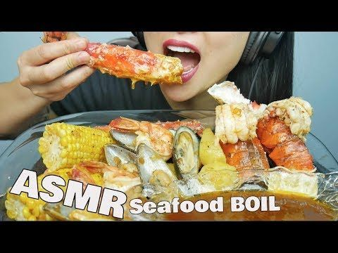Asmr Seafood Boil Bloves Sauce Eating Sounds Sas Asmr Youtube Seafood Boil Chowder Recipes Seafood Food To make ends meet in canada, she worked as a bartender and a retail employee in a mall. asmr seafood boil bloves sauce eating