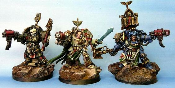 Chaplain, Dark Angels, Deathwing, Librarian