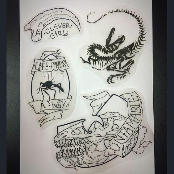 Jarrasic park tattoo