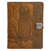 Leather Nook Cover | Horned Owl in Saddle