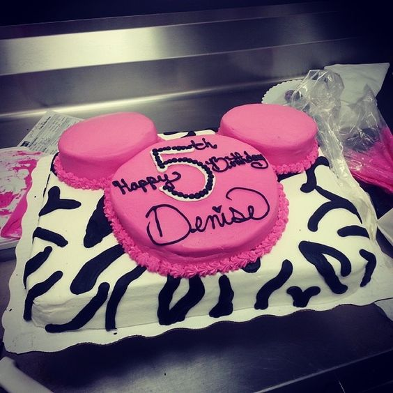 Special Order Cake Minnie Mouse Walmart Walmart Cake