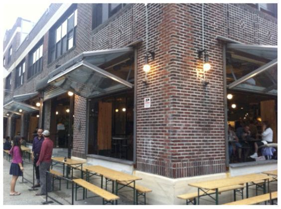 Awesome Beer Garden Ideas To Enjoying Your Day02 With Images Glass Garage Door Commercial Garage Doors Folding Garage Doors