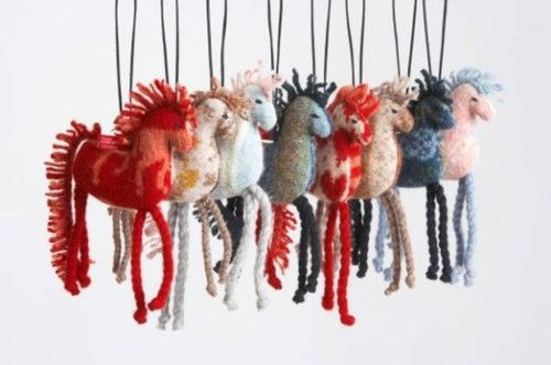 Adorable craft horses by andrea williamson