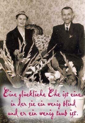 """Spruchkarte, Ehe, Goldene Hochzeit  """"Eine glück..."""