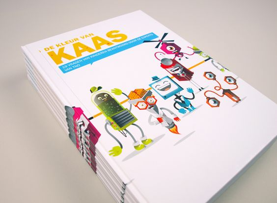 The childrensbook we designed is ready and printed. Very proud!