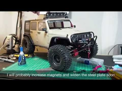 Axial Scx10 Ii 2017 Jeep Crc Unlimited Edition Side Body Popping