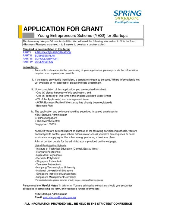 Government Grants for Business Startup - find free grant info at - business profile format