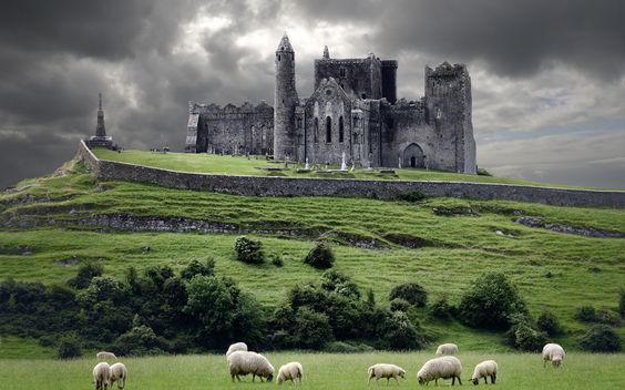 The Rock of Cashel - Ireland.    Tnx Nicola 4 finding the shot