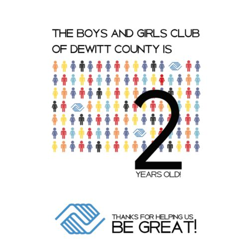 Logo & Event Design for The Boys & Girls Club of DeWitt County