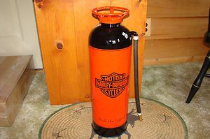 Harley Davidson Motorcycle Fire Extinguisher Great for Mancave | eBay