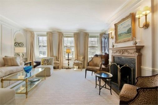 pictures of interior of jackie kennedy new york home   ... home of Jackie Bouvier Kennedy Onassis at 125 East 74th Street, NY