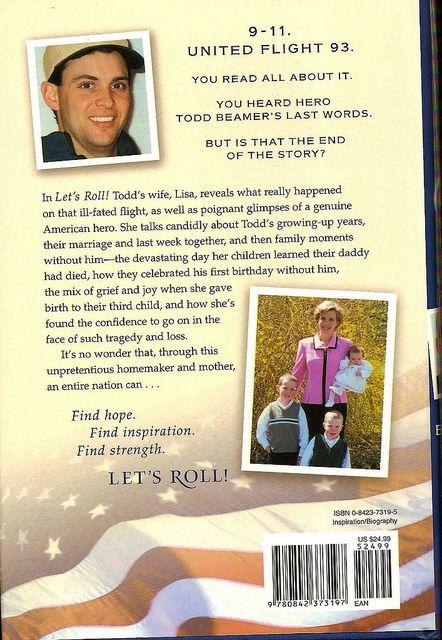 11 2001 Todd Beamer Lets Roll by Monte Mendoza, via Flickr