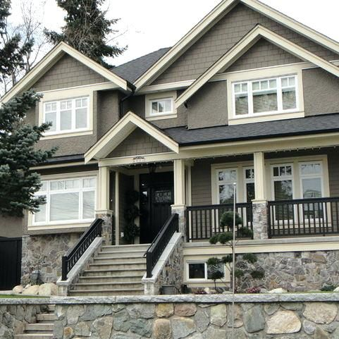 Dark Taupe Exterior Paint Taupe Gray Exterior Paint Color Of