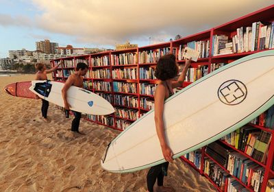 Bondi Beach, Sidney.