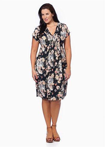 Plus Size Dresses Online | Dresses - Plus Size, Large Size Dresses for Australian Women - BORACAY DRESS - TS14