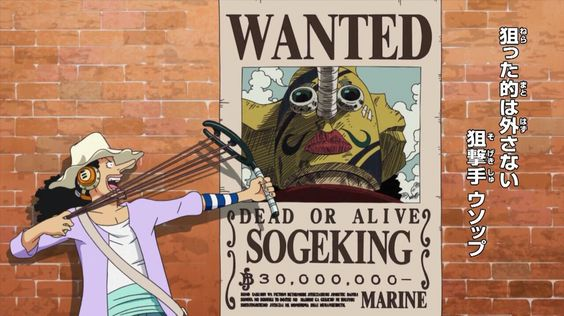 Usopp wanted