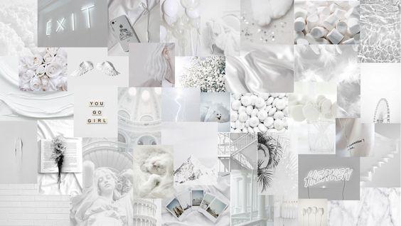 Aesthetic White Wallpaper In 2020 Aesthetic Desktop Wallpaper Wallpaper Notebook Desktop Wallpaper Macbook