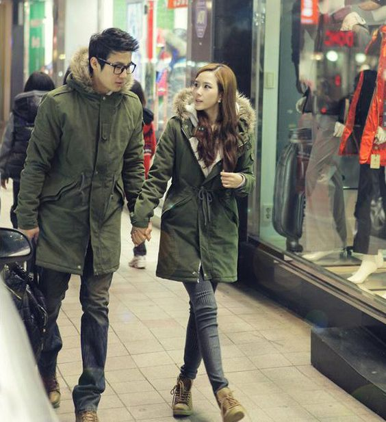 New Men Women Military Long Winter Coat Jacket Hooded Parka ...