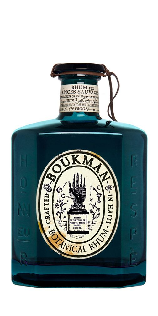Boukman Botanical Haitian Rhum With Images Rum Bottle Rum