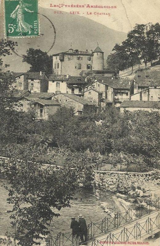 Le Chateau A L Abergement Clemenciat Cartes Postales Anciennes