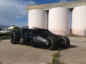Batman Replica Tumbler For Sale, Only $1 Million - DC Comics News