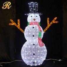 weihnachtsdeko beleuchtet-weihnachtsbeleuchtung außen figuren weihnachtsmann