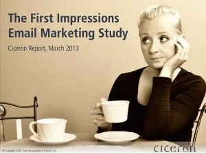 Research: 83% of brands did not make a good first impression with new email subscribers.