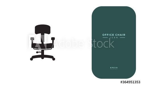 Chair Icon Ad Chair Icon In 2020 Office Icon Icon Artwork Design