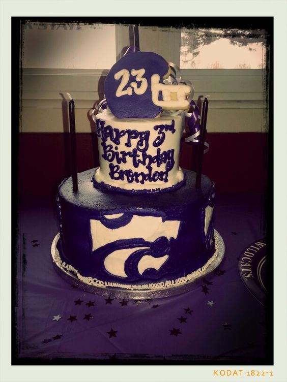 Decorating Ideas > Brendans Birthday Cake, Courtesy Of Cheris Bakery In  ~ 020957_Birthday Party Ideas Wichita Ks
