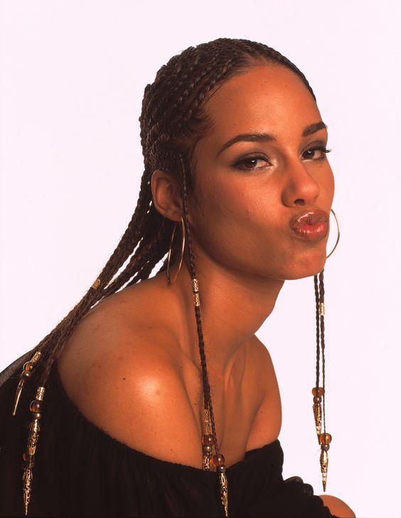 Alicia Keys Tresses