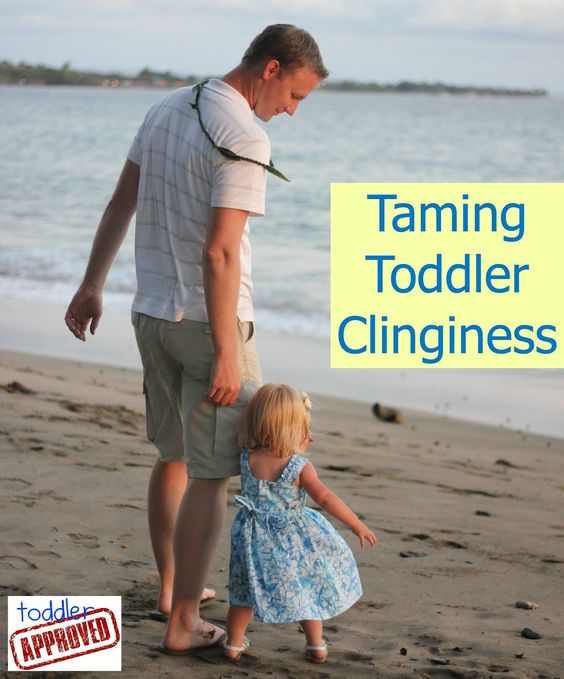 Toddler Approved!: Taming Toddler Clinginess. Tips for dealing with toddler clinginess. What else has worked for you?