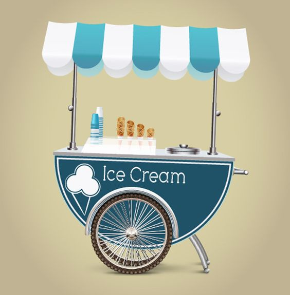 Learn How to Create an Ice Cream Cart in Illustrator Tutorial ...