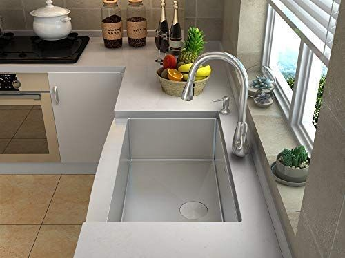 More 5 Star Reviews Than Any Single Basin Farmer Sink Rust And Corrosion Pr Apron Front Stainless Steel Kitchen Sink Stainless Steel Kitchen Steel Kitchen Sink