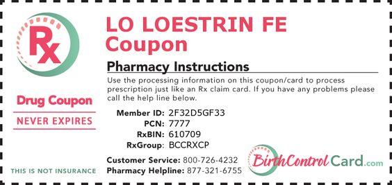 Birth Control Lo Loestrin Fe Coupon Football Strip Deals